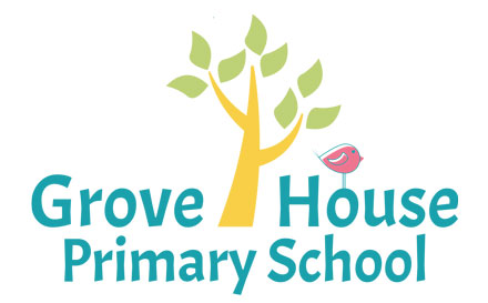 Grove House Primary School logo design