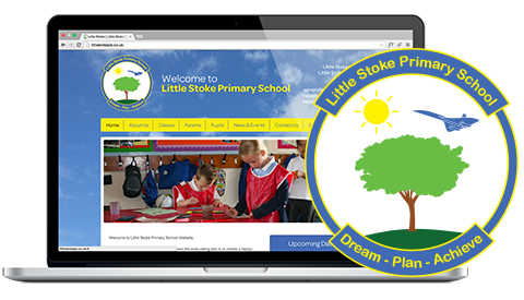Little Stoke Primary School logo design