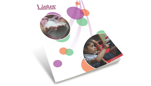 Lister Primary School prospectus and flipbook