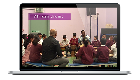 Lister Primary School interactive video