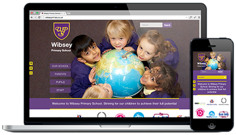 Wibsey Primary School responsive website design and development